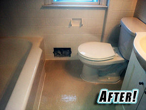 Bathroom - After Refinishing