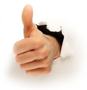 GFR Customers give us the 'thumbs up' ... we're sure you will too!